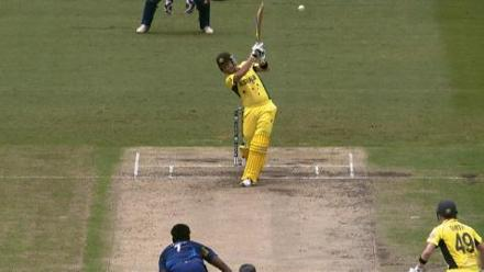 CWC15 AUS vs SL - Australia innings highlights