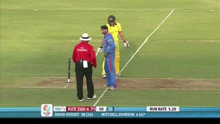 India beat Australia in the 2011 World Cup Quarter Final!