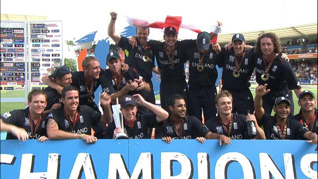 Rewind: England win 2010 World T20