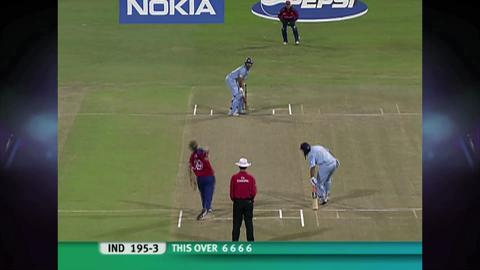Yuvraj Singh S Six Sixes India V England World T20 2007