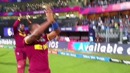 West Indies Celebrate with a 'Champion' dance
