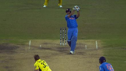 CWC15 AUS vs IND SF - India innings highlights