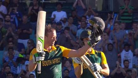 AB de Villiers breaks record for fastest ever 150 v West Indies