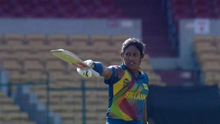 Chamari Atapattu Innings for Sri Lanka V South Africa Video ICC Womens WT20 2016
