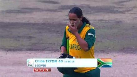 SF2: England Women v South Africa women-Chloe Tryon Wicket