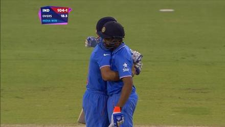 CWC15 UAE vs IND - India innings highlights