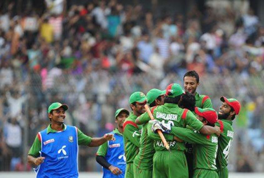 14127 Bangladesh team celebrates