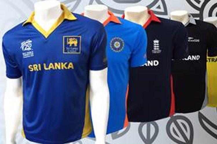 T20 INTERNATIONAL CRICKET SHIRT JERSEY *NEW* SRI LANKA WORLD CUP