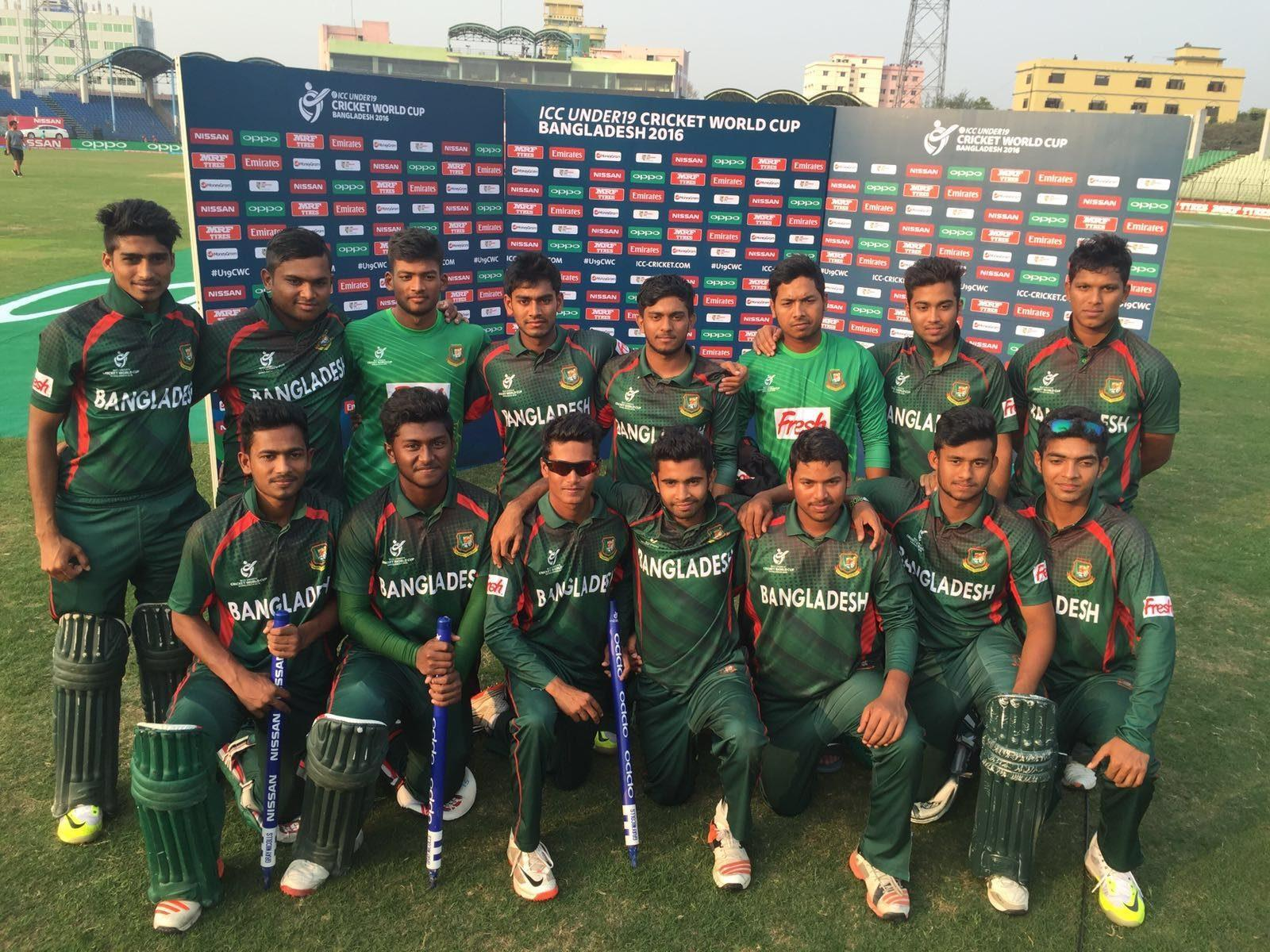 Image result for Bangladesh U19 World Cup 2016 squad