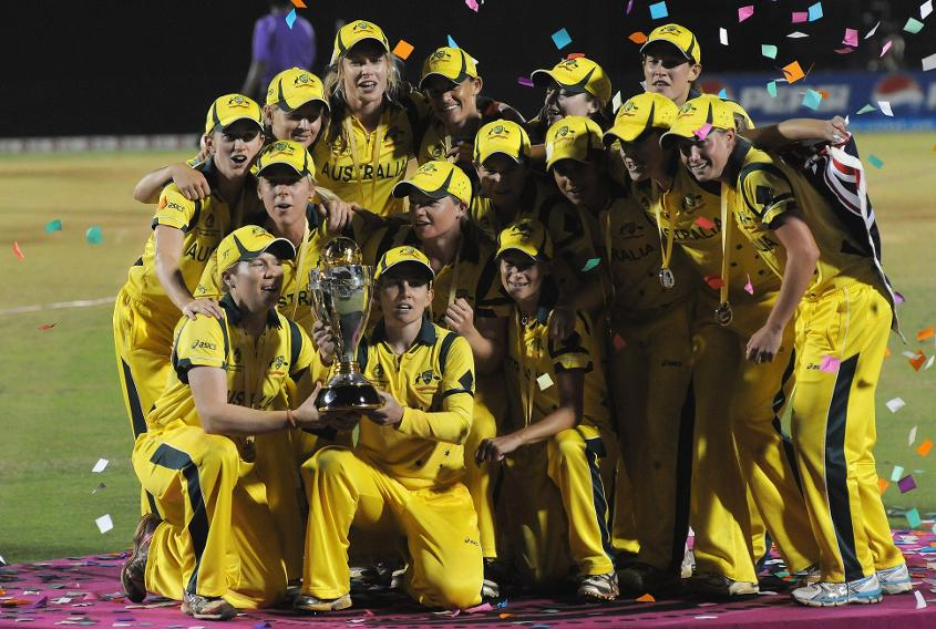 77290 Australia v West Indies - ICC Women's World Cup India 2013 Final