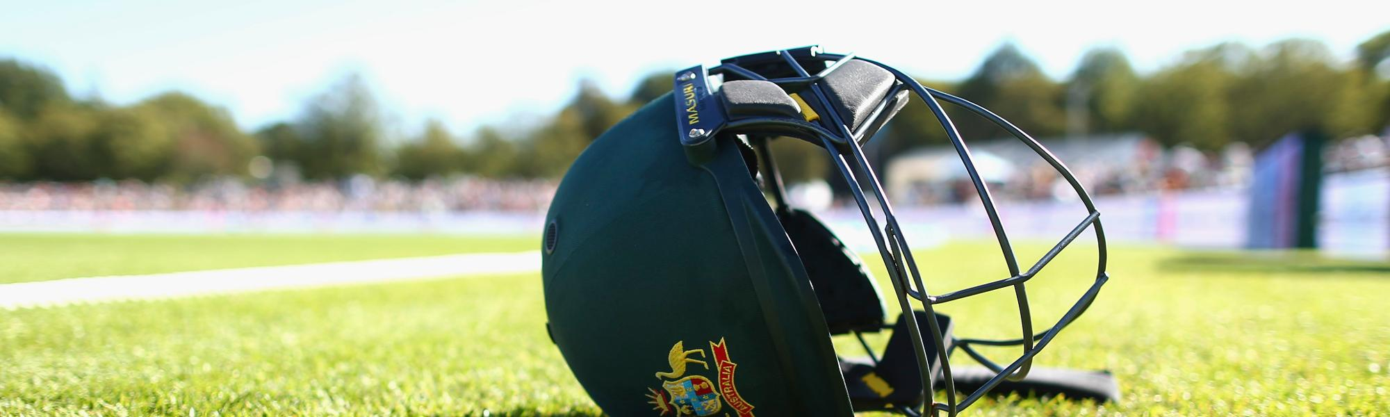 Sanctions will be applied to batsmen who wear non-compliant helmets after 1 February.