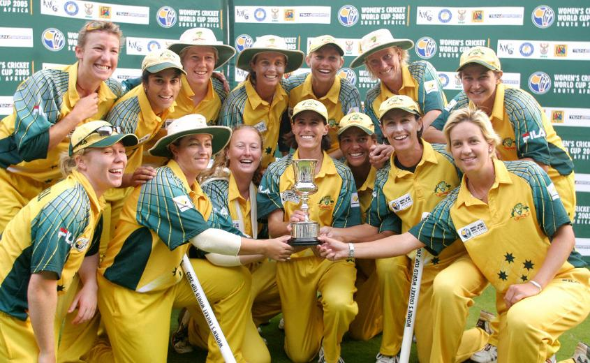 Australia ICC Women's World Cup winners 2005