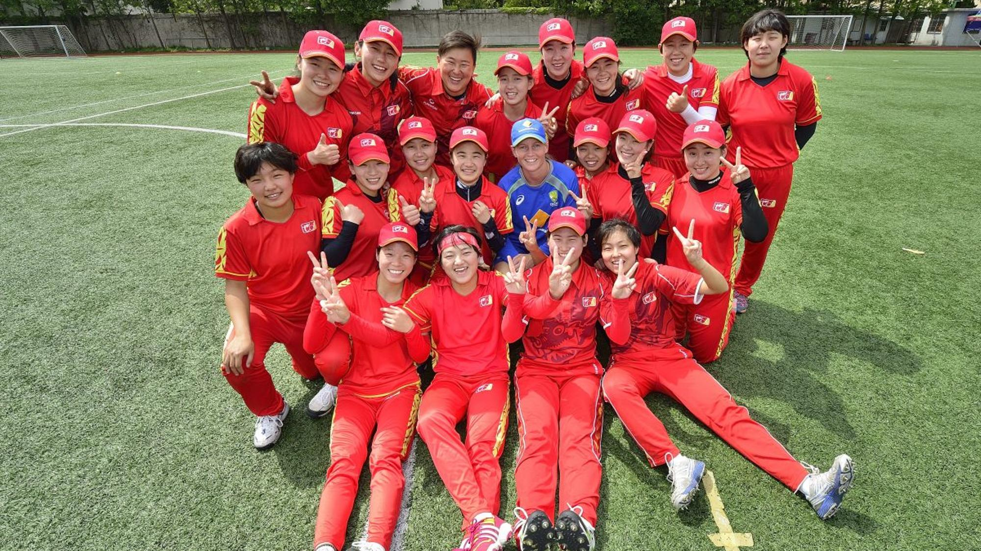 Australia's Meg Lanning supporting the growth of women's cricket in China