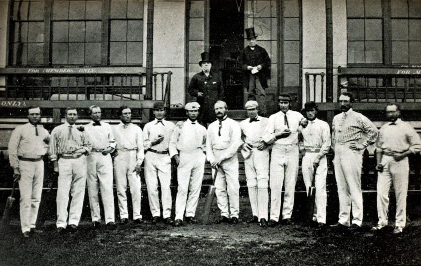 The first instances of cricket