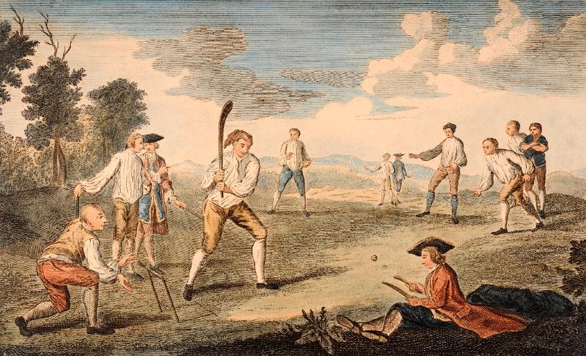 Cricket On The Artillery Ground