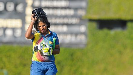 Dilani Manodara walks back