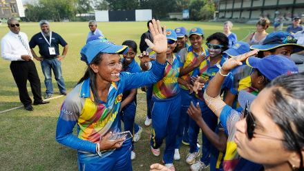 Sri Lanka v Ireland, ICC Women's World Cup Qualifier Group A