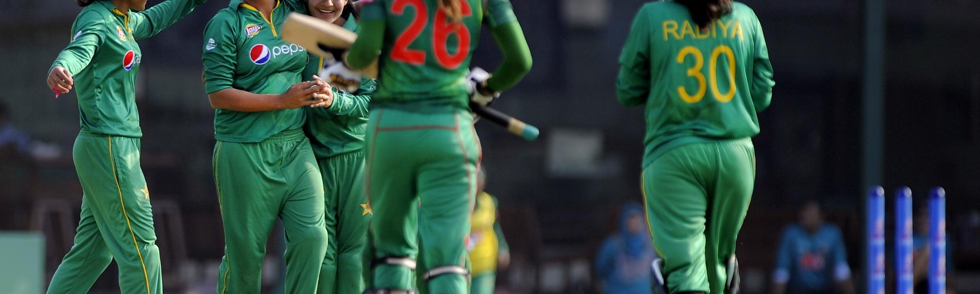 As Pakistan looks to record its best-ever performance at a World Cup, she admits that coping with the pressure will be crucial.