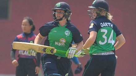 Ireland v Thailand, ICC Women's World Cup Qualifier Group A