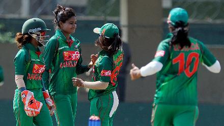 Bangladesh Women v South Africa Women