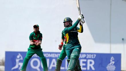 Bangladesh v South Africa, ICC Women's World Cup Qualifier Group B
