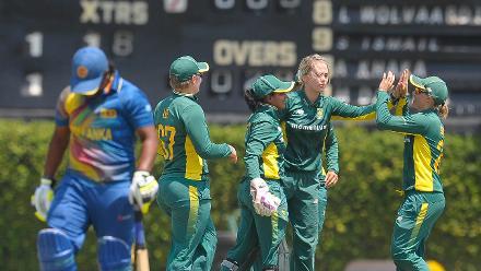 Sri Lanka v South Africa , ICC Women's World Cup Qualifier Super Six