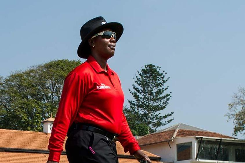 A desire to be close to the game after playing days took Jacqueline Williams  to umpiring.