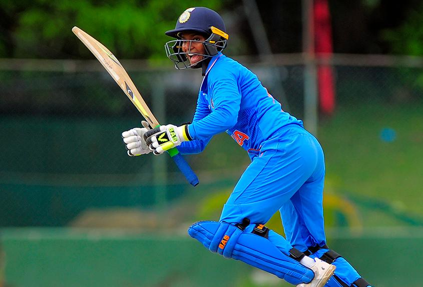 Deepti Sharma en route to 29 not out