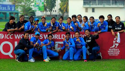 India v South Africa , ICC Women's World Cup Qualifier, Final