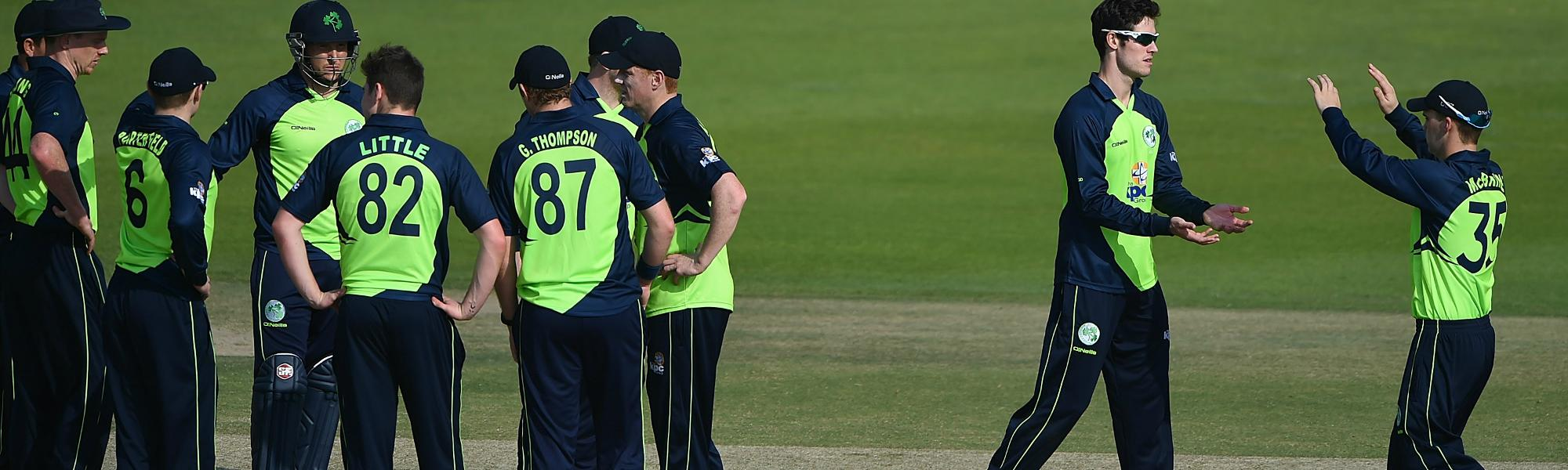 The good form of the batsmen and the success of the spinners should stand Ireland in good stead.