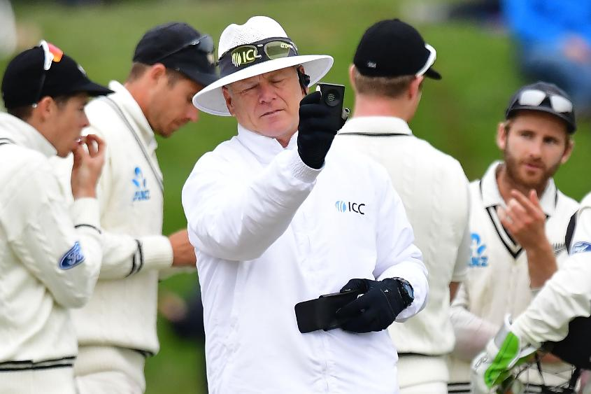 Oxenford is the sixth Australian to reach 50 Tests as an umpire