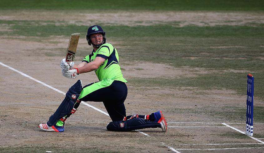 Gary Wilson kept Irish hopes alive with a 34-ball 59