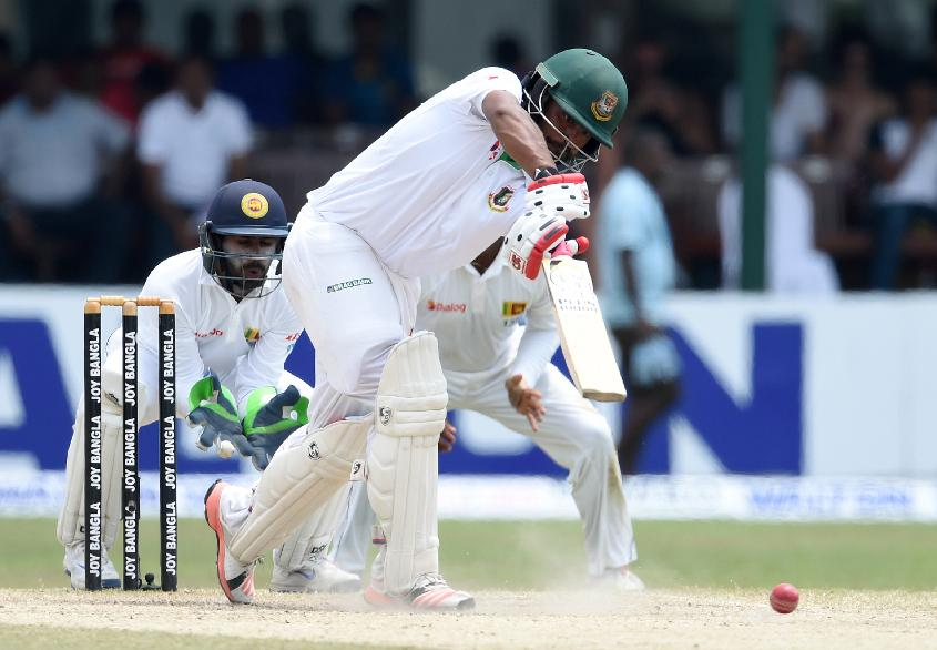 Tamim Iqbal composed a patient 117-ball 82 and stitched a 109-run partnership with Sabbir Rahman for the third wicket