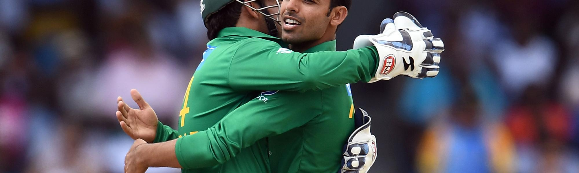 Shadab's mesmerising mixture of leg-breaks and googlies earned him figures of 3 for 7