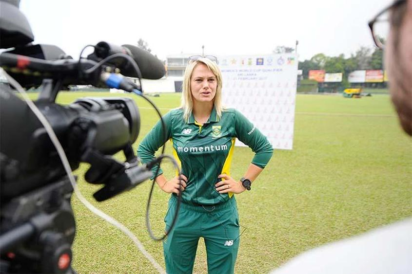 """Playing some tough practice matches will hold us in good stead ahead of the pinnacle women's tournament,"" said Dane van Niekerk"