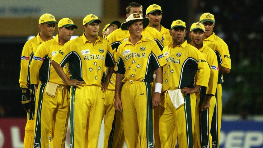 I remember the incredible Australian team of 2002 that I was ridiculously fortunate to be in.