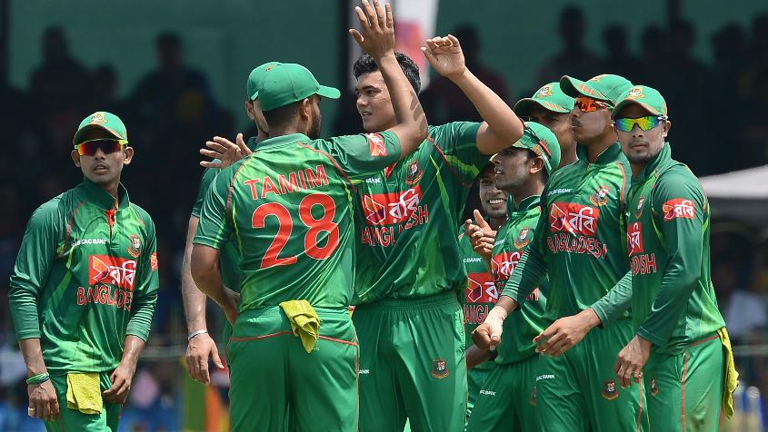 Bangladesh has surrendered one point and is now on 91 points.