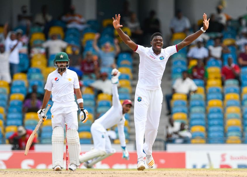 Alzarri Joseph has been recalled to the Test squad for the tour of India