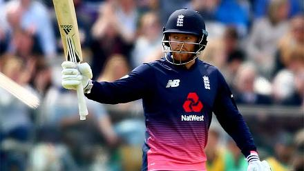 Ireland fought back before the sixth-wicket pair of Adil Rashid and Jonny Bairstow added 88 off 46 balls. Bairstow was 72* off 44.