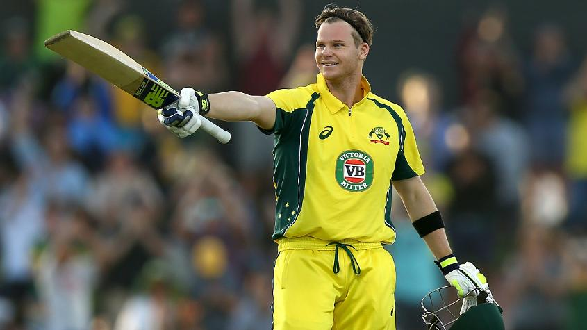 Australia captain Steve Smith has been selected for his maiden ICC Champions Trophy.