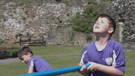 Cricket in the Castles on the Nissan Trophy Tour in Cardiff and South Wales
