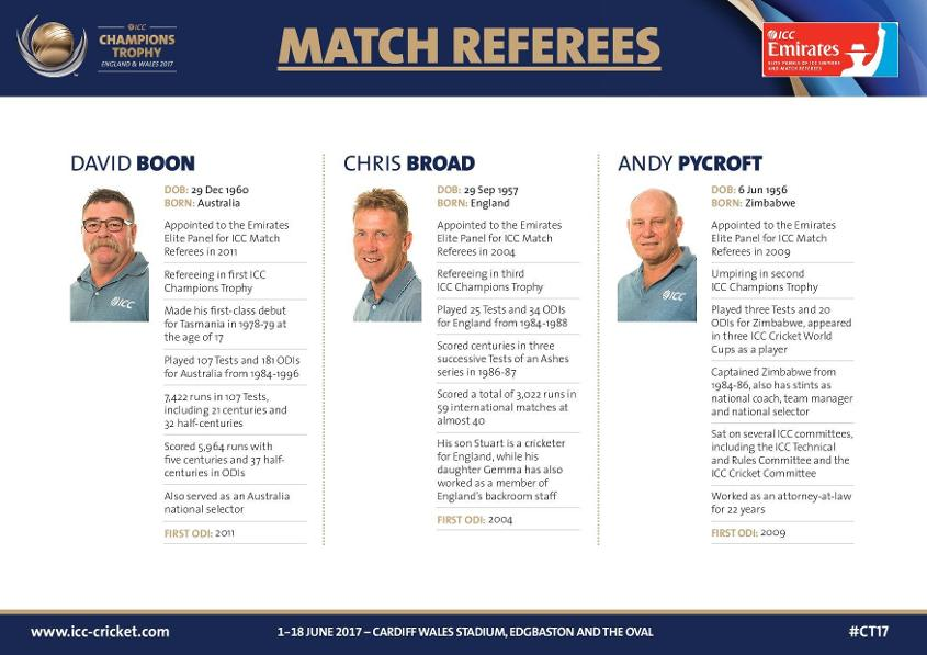 Match Referee