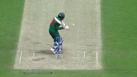#CT17 Warm-Up: Mushfiqur Rahim wicket