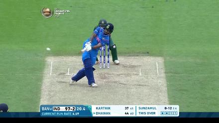 #CT17 Warm-up: Shikhar Dhawan Innings
