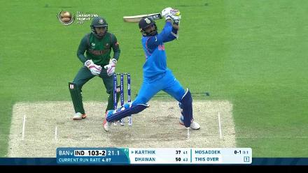 #CT17 Warm-up: Dinesh Karthik fifty