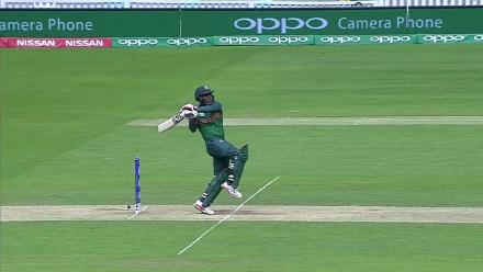 #CT17 Warm-Up: Imrul Kayes wicket