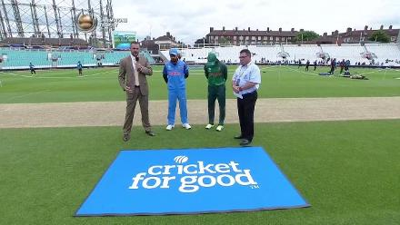 #CT17 Warm-Up: Toss and pitch report