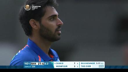 #CT17 Warm-up: Bhuvneshwar Kumar 3-13