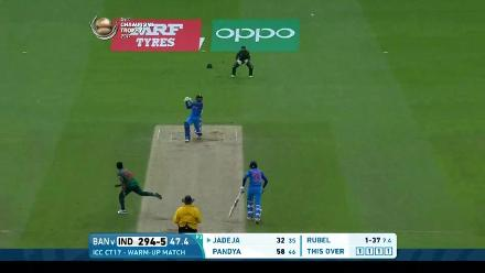 #CT17 Warm-up: India v Bangladesh highlights