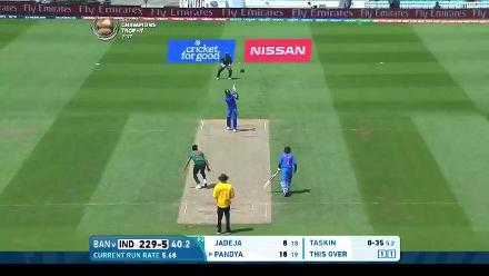 #CT17 Warm-Up: Hardik Pandya fifty